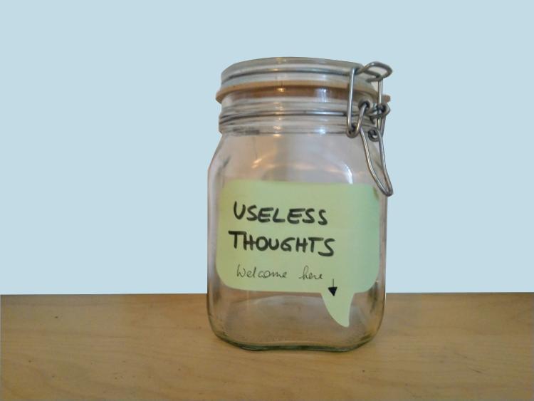 Unnütze Gedanken loslassen