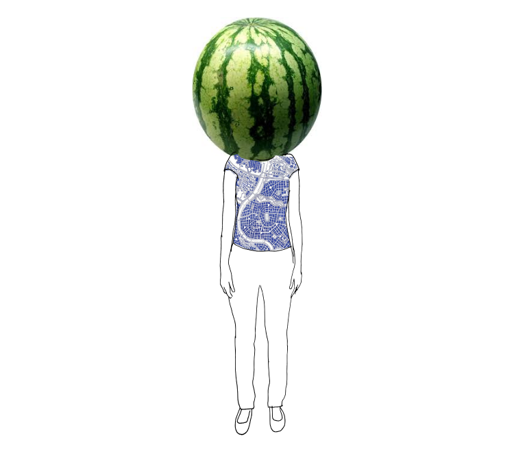 How big is your melon head?